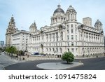 the majestic three graces... | Shutterstock . vector #1091475824