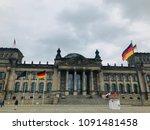 reichstag building in berlin   Shutterstock . vector #1091481458