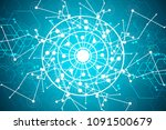 technology internet... | Shutterstock . vector #1091500679