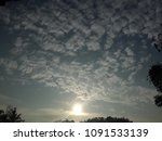 dramatic cloud in the morning | Shutterstock . vector #1091533139