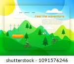 landing page for eco friendly...