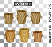 vector realistic 3d images of... | Shutterstock .eps vector #1091594240