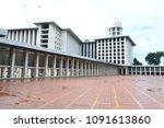 jakarta  indonesia   april 26th ... | Shutterstock . vector #1091613860