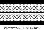 ikat seamless pattern. vector... | Shutterstock .eps vector #1091621093