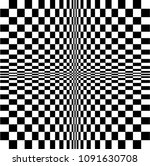 the illusion of motion. visual... | Shutterstock .eps vector #1091630708