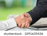 business trust commitment which ... | Shutterstock . vector #1091635436