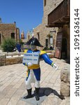 tel aviv  jaffa  israel   april ... | Shutterstock . vector #1091636144