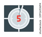 video countdown timer | Shutterstock .eps vector #1091653694