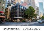 melbourne australia   feb 2017  ... | Shutterstock . vector #1091672579