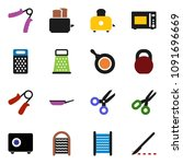 solid vector icon set  ... | Shutterstock .eps vector #1091696669