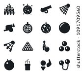 set of simple vector isolated... | Shutterstock .eps vector #1091709560