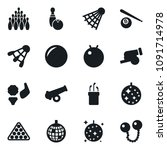 set of simple vector isolated... | Shutterstock .eps vector #1091714978