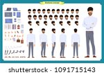people character business set.... | Shutterstock .eps vector #1091715143