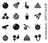 set of simple vector isolated... | Shutterstock .eps vector #1091726378