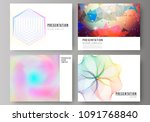 the minimalistic abstract... | Shutterstock .eps vector #1091768840