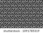 abstract geometric pattern with ... | Shutterstock . vector #1091785319