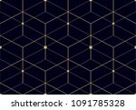 the geometric pattern with... | Shutterstock . vector #1091785328
