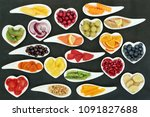 health super food nutrition for ... | Shutterstock . vector #1091827688