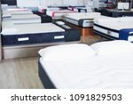 image of new style mattresses... | Shutterstock . vector #1091829503