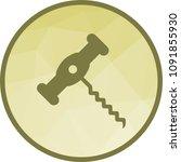 wine  corkscrew  bar | Shutterstock .eps vector #1091855930