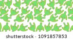 pattern with green cactus