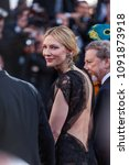 Small photo of CANNES, FRANCE - MAY 09, 2018: Cate Blanchet attends the screening of 'Everybody Knows (Todos Lo Saben)' and the opening gala during the 71st annual Cannes Film Festival