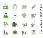 university and higher education ... | Shutterstock .eps vector #109189148
