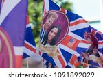 london  uk   may 15th 2018 ... | Shutterstock . vector #1091892029