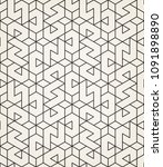 abstract geometric pattern with ...   Shutterstock .eps vector #1091898890