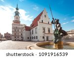 poznan  poland   may 15 2018  ... | Shutterstock . vector #1091916539