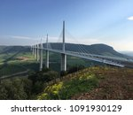 the millau viaduct from the...
