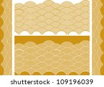 Vector Auspicious Golden Wave...