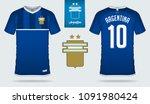 soccer jersey or football kit... | Shutterstock .eps vector #1091980424