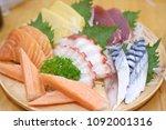 Small photo of Sashimi Mori Salmon, Tako, Toro, etc.