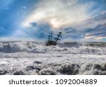 Strong Sea Storm And The...