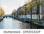amsterdam  netherlands  ... | Shutterstock . vector #1092013229