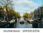 amsterdam  netherlands  ... | Shutterstock . vector #1092013256