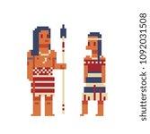 new zealand maori traditional... | Shutterstock .eps vector #1092031508