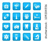 medical vector icon set for web ... | Shutterstock .eps vector #109204556