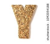 cork.alphabet.letter z  on... | Shutterstock . vector #1092054188