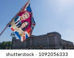 london  uk   may 15th 2018 ... | Shutterstock . vector #1092056333