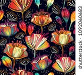Colorful Floral Pattern....