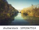 petushok on riverside of river... | Shutterstock . vector #1092067514