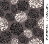 seamless pattern with... | Shutterstock .eps vector #1092096848