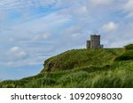 stone fort on a cliff in ireland | Shutterstock . vector #1092098030