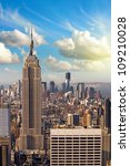 new york   march 6   empire... | Shutterstock . vector #109210028