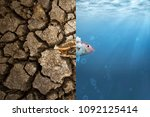 climate change and global...   Shutterstock . vector #1092125414