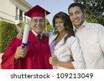 portrait of an excited senior... | Shutterstock . vector #109213049