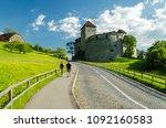 vaduz castle in liechtenstein | Shutterstock . vector #1092160583