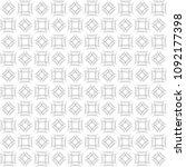seamless abstract black texture ... | Shutterstock . vector #1092177398